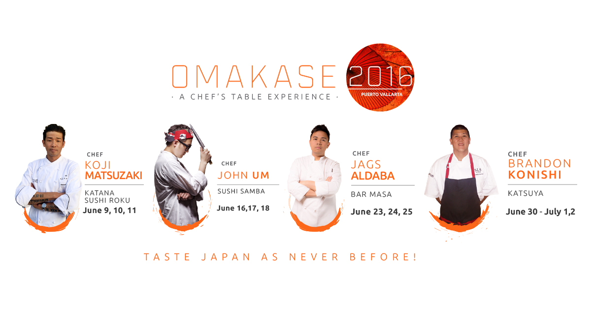Tops Chefs at Omakase 2016